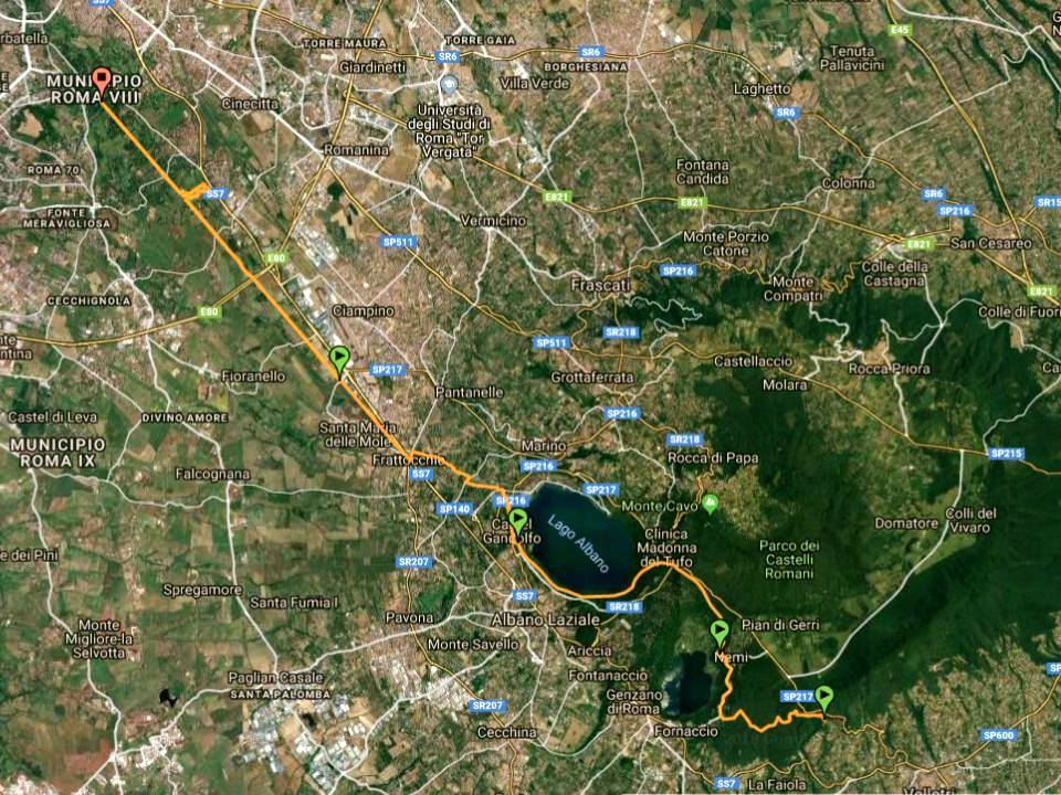 Castel Gandolfo: presentata la 1° edizione della South Francigena Marathon in programma per il 28 aprile