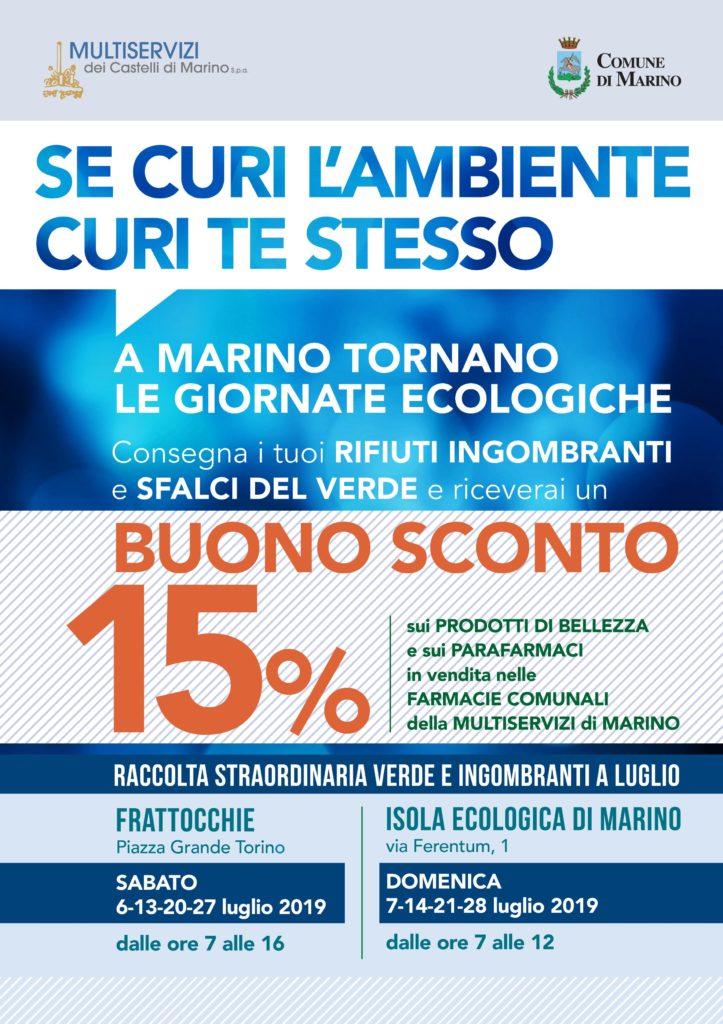 AVVIO PAP ZONA 6 DI MARINO CENTRO+ISOLE ECOLOGICHE