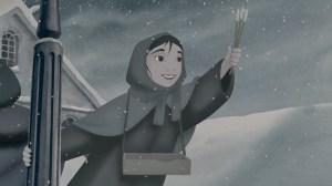 La piccola fiammiferaia nella versione Disney