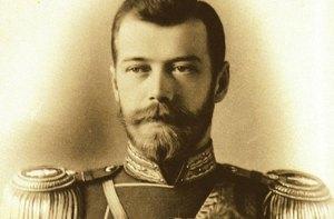Una foto dello Zar Nicola II