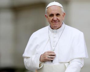 Una foto di Papa Francesco