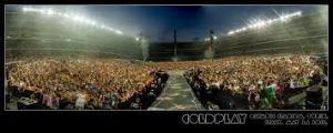 Un'immagine del tutto esaurito dell'unica tappa dei Coldplay al concerto di Torino (2012)