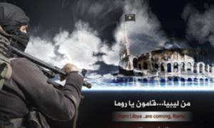 L'immagine propagandistica dell'Isis, sull'invasione dell'Italia