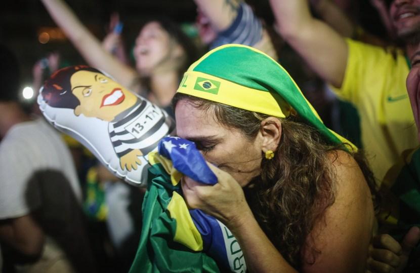 <> on April 17, 2016 in Rio de Janeiro, Brazil.