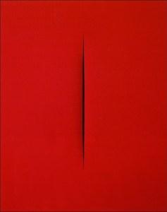 Lucio Fontana, concetto spaziale-attesa, 1965