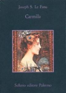 La copertina italiana, edizione della Sellerio, de Carmilla Joseph Sheridan le Fanu