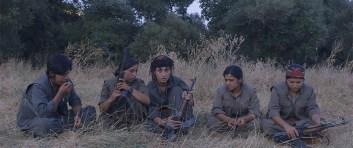 Alcune delle combattenti protagoniste del documentario