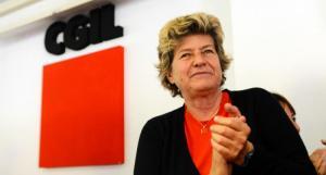 Susanna Camusso, segretaria della CGIL