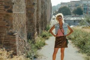 L'attrice Jasmine Trinca (1981) in una scena del film
