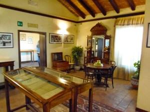 L'interno della casa natale (oggi un museo) di Luigi Pirandello - Agrigento