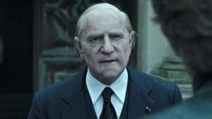 """Ecco Spacey in """"Tutti i Soldi del Mondo"""" di Ridley Scott, nel ruolo di Jean Paul Getty: l'attore è stato sostituito a riprese terminate da Christopher Plummer"""