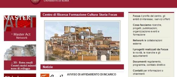 Fo.Cu.S: promuovere e gestire i centri storici minori