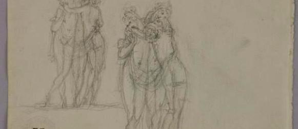 Canova e il segno della gloria, 79 disegni a Palazzo Braschi