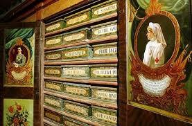 Magìe dell'Antica Spezieria di S. Maria della Scala