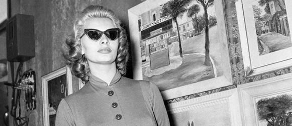 Omaggio a Sofia Loren in 40 ritratti dei Riccardi