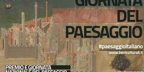 Giornata nazionale del paesaggio. Iniziative in tutta Italia