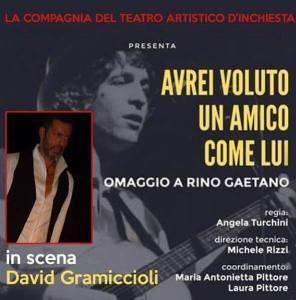 David a Napoli con Rino Gaetano