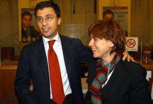 Italo Bocchino con la moglie Gabriella Buontempo