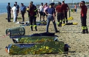 immigrati morti alla plaia