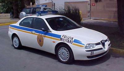 Alfa156 - Polizia Militare - Base U.S. Naval Air Station