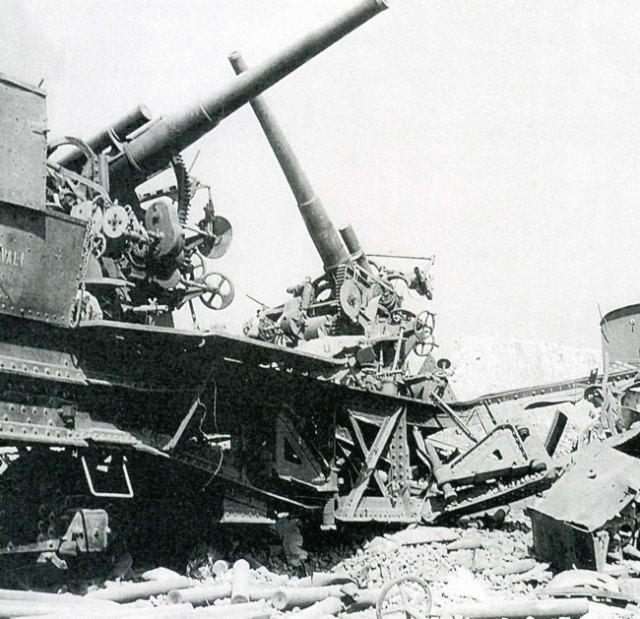 Treno-armato-sabotato-1943