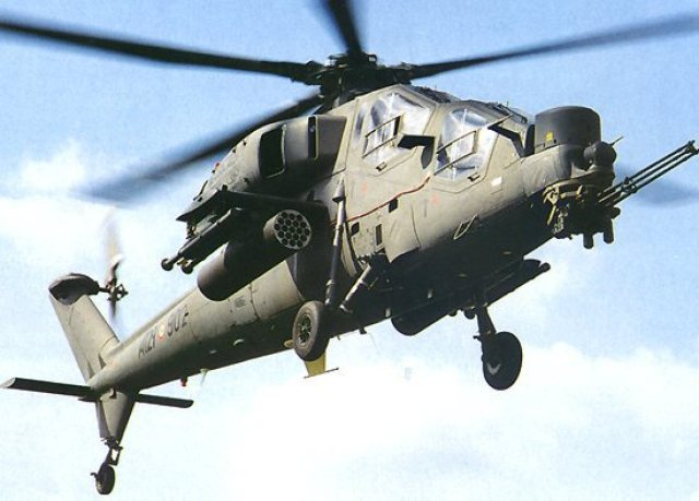 AW-129, ultima variante del A129 Mangusta (Mongoose), .E' costruito dalla Finmeccanica.