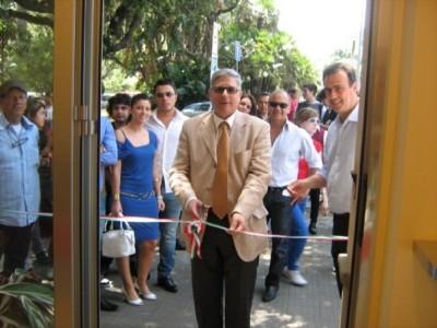 Il sindaco di Francavilla di Sicilia, Lino Monea