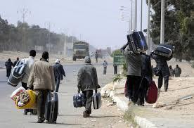 Profughi dalla Libia