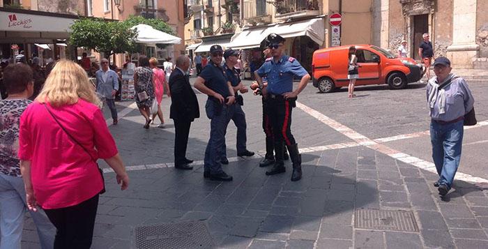 """Taormina, """"007"""" al lavoro per garantire sicurezza al G7"""