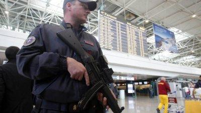 Sicurezza all'aeroporto di Catania