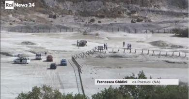 Tragedia alla solfatara di Pozzuoli: famiglia inghiottita dal cratere
