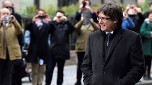 Charles Puigdemont a Bruxelles