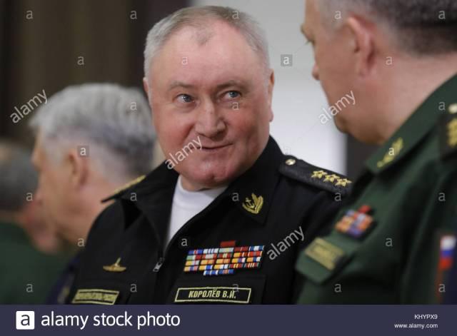L'ammiraglio Vladimir Koroliov