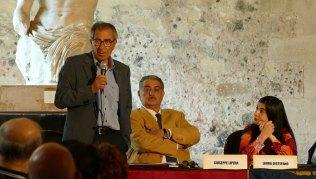 Salvo Barbagallo, Direttore La Voce Dell'Isola Giuseppe Lipera, Avvocato Penalista, Laura Distefano, Giornalista di LiveSicilia Catania
