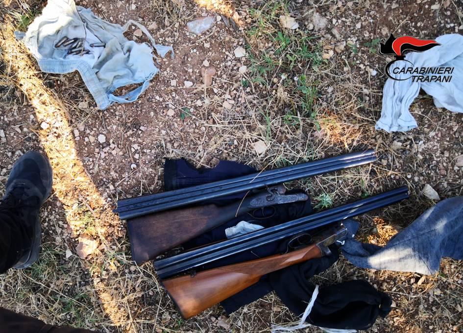 Operazione Cutrara: Trovate armi e munizioni nascoste sotto il terreno