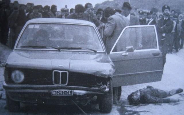 Il boss Giuseppe Di Cristina assassinato