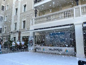 La Val di Pejo porta la neve a Cagliari