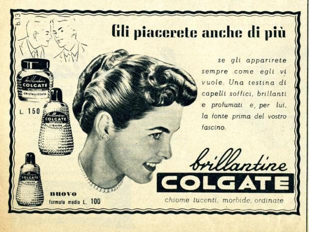 Anni '50 - Brillantina Colgate