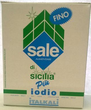 Richiamo Sale di Sicilia Italkali