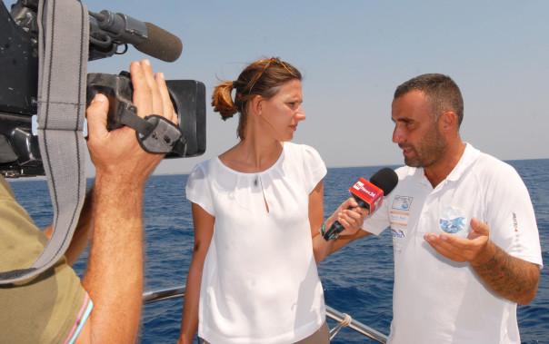 Sivia Balducci RAINEWS24 intervista Carmelo Fanizza JDC