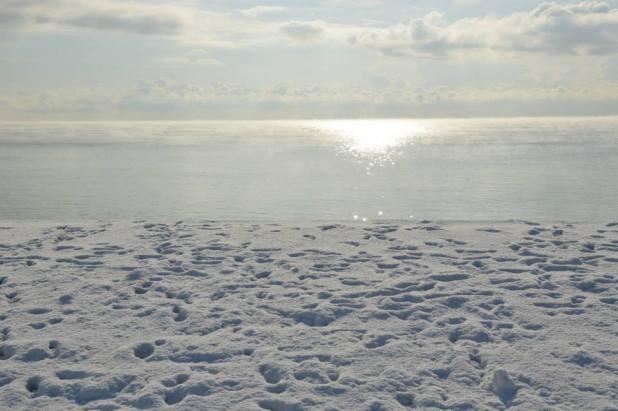 No! Non  è il Polo Nord  - Carpe Diem - scatto rubato a Annett De Cataldo Occhilupo