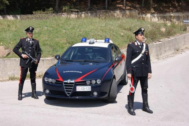 Manduria-carabinieri
