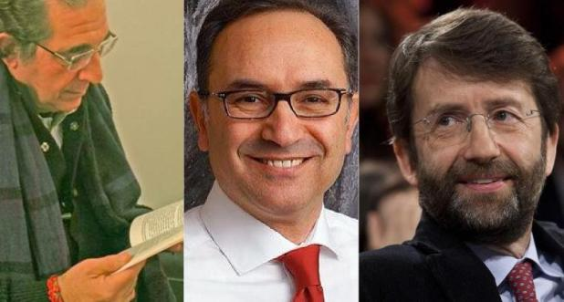 Pierfranco Bruni, Giuliano Volpe Dario, Franceschini