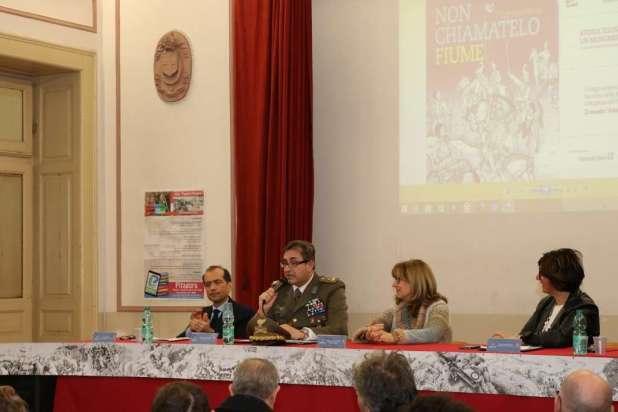 Presentato dall'Esercito a Bari il volume: NON CHIAMATELO FIUME. Dal grappa al Piave, storia di un monumento d'Italia.