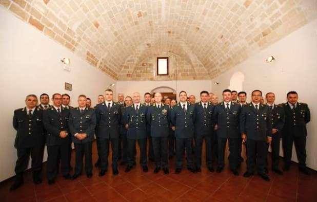 GUARDIA DI FINANZA: VISITA DEL COMANDANTE REGIONALE PUGLIA GENERALE DI DIVISIONE VITO AUGELLI ALLA COMPAGNIA DI MANDURIA.