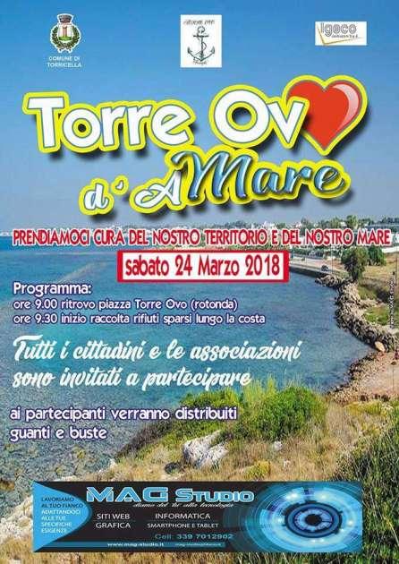 Sabato 24 marzo: TORRE OVO D'amare, Giornata Ecologica