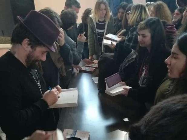 """Zampaglione e Gensini incontrano gli studenti del """"De Sanctis-Galilei"""""""