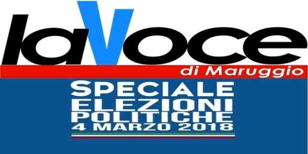 Elezioni 4 marzo 2018 - Scrutini Maruggio Camera dei Deputati - Dati definitivi