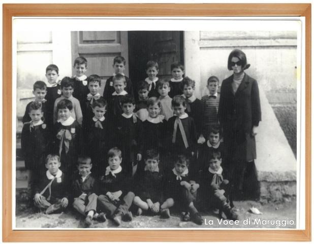 Maruggio anno scolastico 1965/1966. Classe 1^ elementare. Nati 1959
