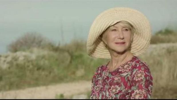 Il Premio Oscar Helen Mirren testimonial dello spot per l'ambiente in Puglia